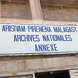 Archives Nationales de Madagascar